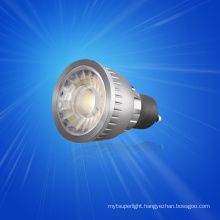 Dimmable led spotlights led street light with 1pc COB 5w 7w