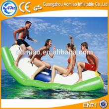 PVC water park toys, water park equipment, inflatable water banana boat