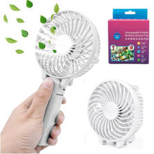 Portátil portátil plegable Mini Fan USB con pilas