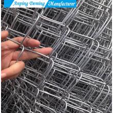 Hot Dip Galvanized Used Chain Link Fence