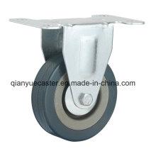 Rodas de borracha cinza / PVC Light Duty