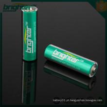 Aa bateria alcalina SGS CE da Ningbo Factory