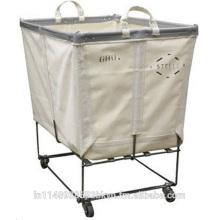 Camión de la cesta de lavandería con ruedas