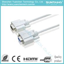 OEM HD 15pins macho a macho Cable VGA