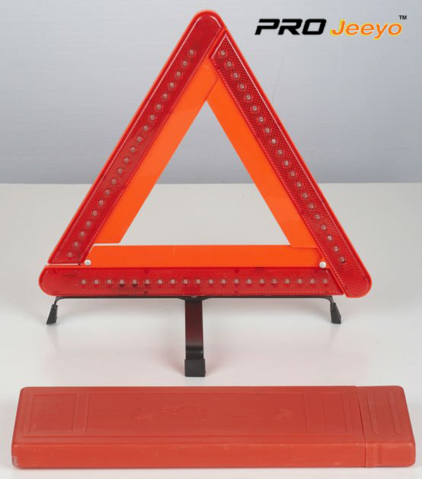 LED Flashing Light Warning Triangle DL-210 1