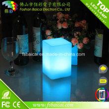 LED Cube RGB Iluminado Decoração Mesa LED
