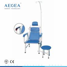 AG-TC002 sillas de infusión médica de sueño de inyección de paciente de hospital