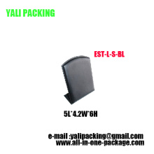 Vertikale Alphabet L PU Ohrring Display Großhandel (EST-LS-BL)