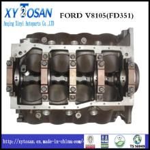 Excavateur de haute qualité Pièce moteur Ford 351 Cylindre Block KCB1042