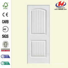 36 pol x 80 pol. Solidoor Cheyenne Liso de 2 painéis de núcleo sólido Composto Single Prehung Porta Interior