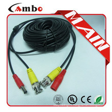 High quality Coaxial patch cord DC+ BNC Connector for cctv surveillance