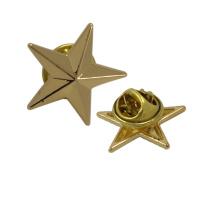 Bekleidungszubehör Günstige Großhandel Sterne Metall Broschen