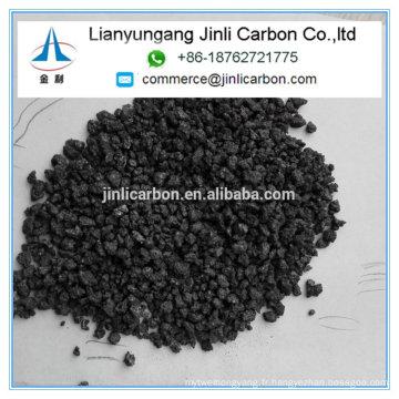 recarburizer d'additif de carbone de coke de pétrole calciné pour le moulage de fer et la fabrication en acier