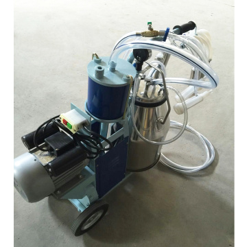 Piston engine milking machine for sheep/goat