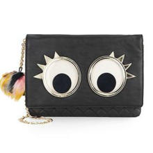 Lovely Fashion Clutch Unique Eye-Pattern Quilted Design Clutch (ZX20026)