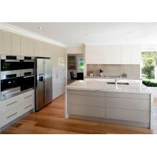Australia mercado de alta calidad de venta de alto estándar de color brillante de color lacado gabinete de cocina