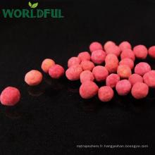 Engrais rouge de sulfate de magnésium d'engrais de granule de Kieserite