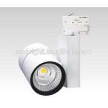 Pour rail d'éclairage + supermarché alimentaire éclairage 50W haute puissance LED s/n
