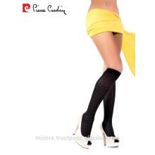 Pierre Cardin Patterned Sexy Women Knee High Socks 40 Denier