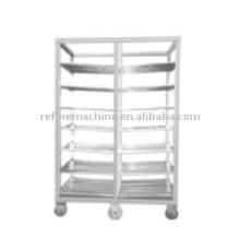 Stainless steel shelf for drying