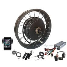 """SUPER  7 3  electric bike motor kit hub 150mm dropout 3000w 5000w QS 205 fat tire ebike kit 26"""""""