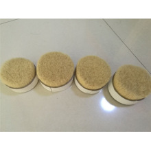 57mm White Boiled Bristle Pig Hair