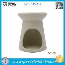 New White Essential Ceramic Fragrance Oil Burner