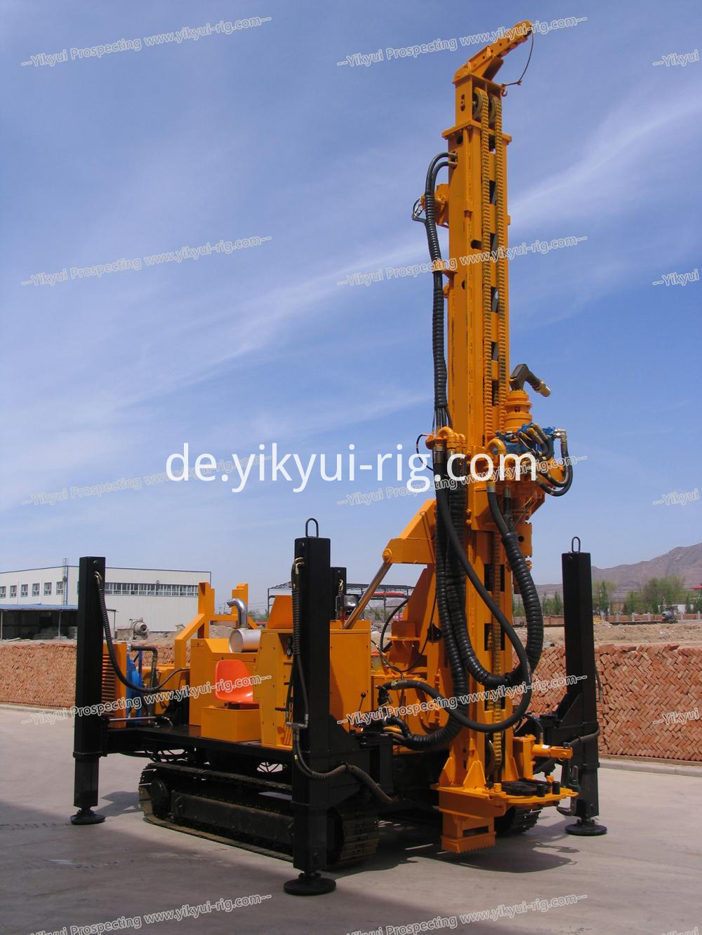 Ykrc 500a 235m Reverse Circulation Rc Dth Drilling Rig 11 Jpg