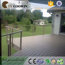 WPC outdoor floor Wood Plastic Composite Decorate Decking board