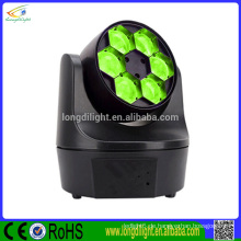 6 Bienenaugenkopf LED-Strahl Disco Licht LED Mini Bee Strahl Moving Head