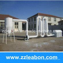 Máquina secadora de tubos de aserrín de gran capacidad