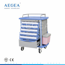 AG-MT001A1 Alta calidad abs simple flexible emergencia médica botiquín de primeros auxilios