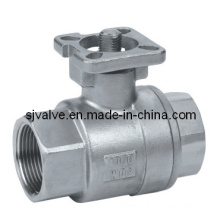Stainless Steel 316 2PC Ball Valve ISO 5211 (valvula)