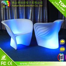 Wholesale RGB LED cadeira de jantar