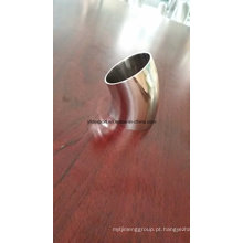 Aço inoxidável polido aço inoxidável 45 graus cotovelo