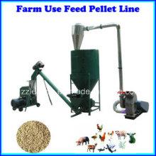 500kg / H Petite Ligne de fabrication de nourriture de volaille / alimentation animale