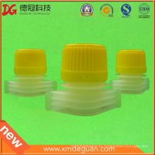 Boquilla de plástico de 15mm con tapa para detergente de lavandería