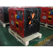 4.6kw Generador de Soldadura Diesel de Fase Única