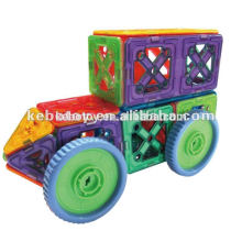 Novos brinquedos magnéticos educacionais do edifício mag-sabedoria