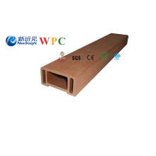 Corrimão composto plástico de madeira de 90 * de 45mm WPC