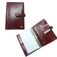 Carpeta de archivo con anillo de metal, sostenedor de cheque de titular de pluma (EN-303)