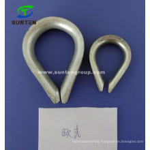 Stainless/Galvanized Marine/Cargo/Packing/Lifting/Twist/Twisted Mooring/Wire Rope European Thimble