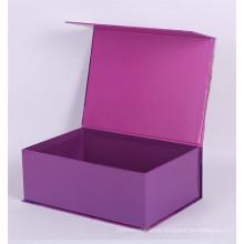 Высокое количество одежды упаковывая коробка магнитным замком коробка подарка картона