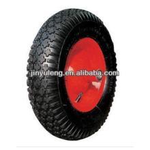 "14""x3.50-8 pneumatic rubber wheel/ tire for wheelbarrow"