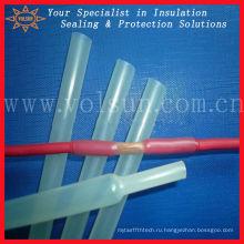 Прозрачный водонепроницаемый гибкие спиральные трубки термоусадочная трубка