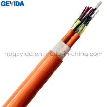 Cabo de fibra óptica de distribuição Unitube