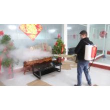 Desinfektion der Rucksack-Nebelmaschine für Coronavirus