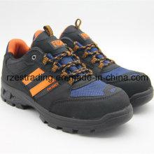 Calçado de segurança de aço do dedo do pé com ISO, certificação do Ce aprovada
