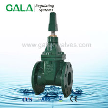 BS NRS gate valve 5k , rubber wedge resilient seal gate valve