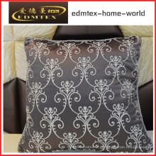 Bordados decorativos almofada de veludo de moda travesseiro (EDM0299)
